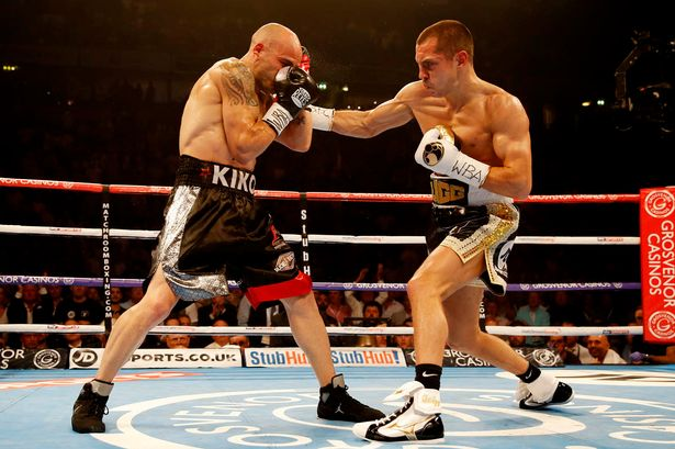 Home Advantage: Quigg will likely have the crowd in his favour at the Manchester Arena.
