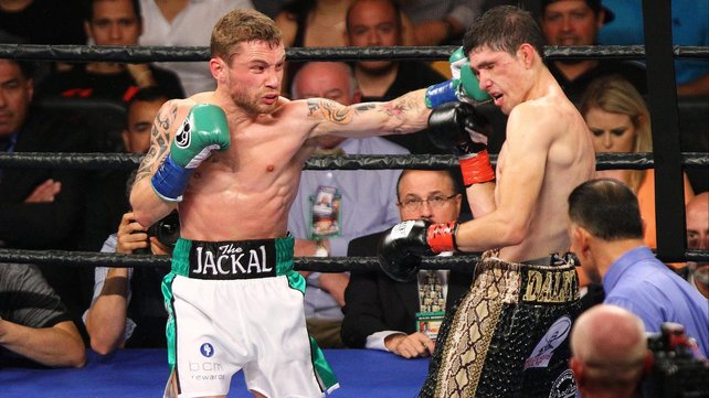 Talking the Talk: Belfast's Frampton believes there's no doubts over who will win on Saturday night.