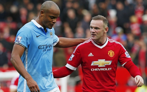 Image result for rooney and kompany