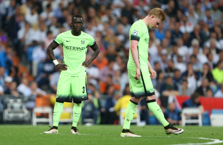 Manchester City crashed out of the Champions League after a lifeless display against Real Madrid.