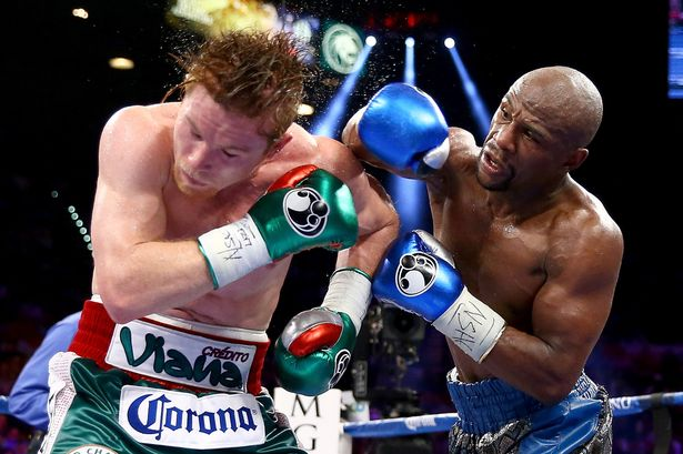 Canelo's only loss came at the hands of Floyd Mayweather in 2013.