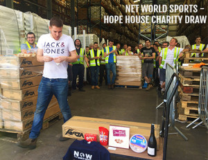 Net World Sports Charity Prize Draw For Hope House Charity
