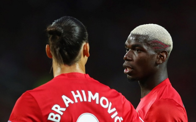 Both Zlatan & Pogba shared the stage at Old Trafford on Friday night.