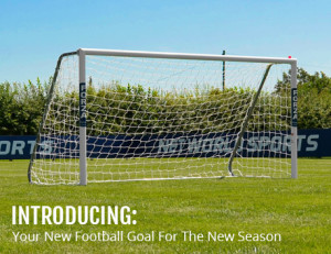 Net World Sports Alu60 Football Goal