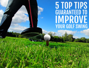 Improve your golf swing with these 10 easy steps