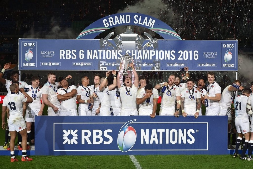 England Rugby Champions 2016