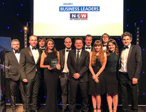 Net World Sports wins at inaugural North Wales Business Leaders Awards 2017