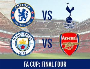 FA Cup Semi Final 2017 predictions Chelsea Man City Spurs Arsenal