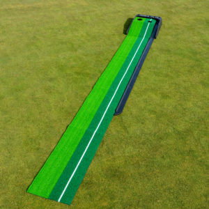 Dual Speed Putting Practise Mat for Fathers Day Golf Gift Ideas