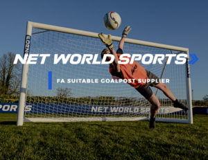 Net World Sports FORZA goals safety tested to BS EN standards, FA suitable goalpost supplier