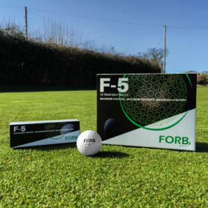 Fathers Day Golf Gift FORB F-5 Tour Golf Balls