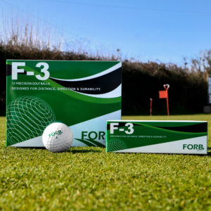 Father's Day Golf Gift FORB F-3 Practice Golf Balls
