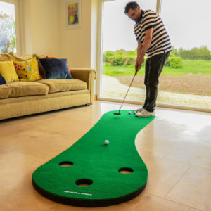 Father's Day Golf Gift Home Golf Putting Mat
