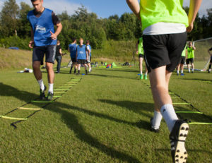 Football pre season training tips with Caernarfon Town manager Iwan Williams