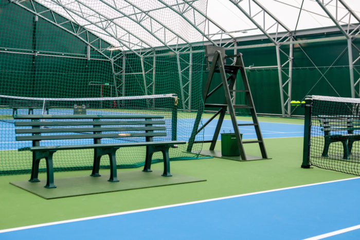 Merveilleux Umpires Chairs Player Benches U0026 Tennis Court Equipment From Net World  Sports Supplied To Ellesmere Collegeu0027s