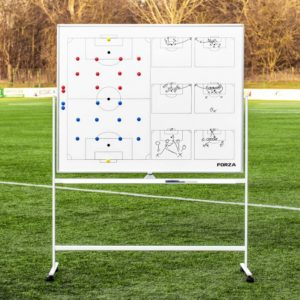 FORZA 150CM X 120CM DOUBLE-SIDED WHEELED SPORT COACHING WHITEBOARDS [5 SPORTS AVAILABLE]